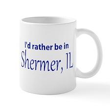 Shermer, IL John Hughes-dom Small Mug