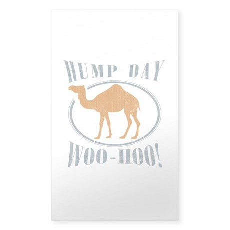 Hump day Sticker (Rectangle)