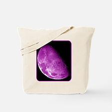 Moon - Space - Pink Tote Bag