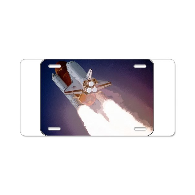 space shuttle license plate - photo #9