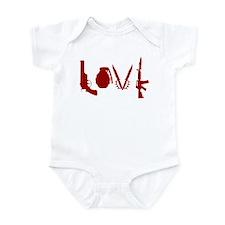 Weapon Love Infant Bodysuit