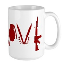 Weapon Love Ceramic Mugs