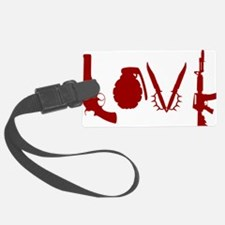 Weapon Love Luggage Tag