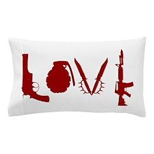 Weapon Love Pillow Case