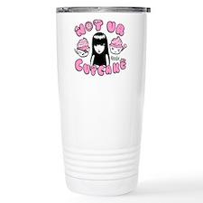 Not ur Cupcake Stainless Steel Travel Mug