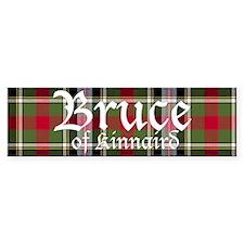 Tartan - Bruce of Kinnaird Bumper Sticker