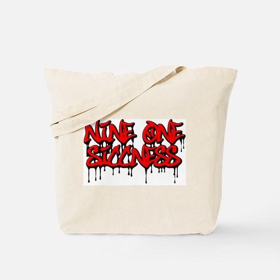 Nine One Siccness Tote Bag
