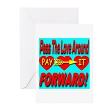Pay It Forward Greeting Cards (Pk of 10)