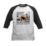 Life Guard Kids Baseball Jersey