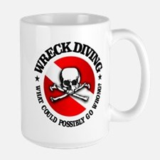 Wreck Diving (Skull) Mug