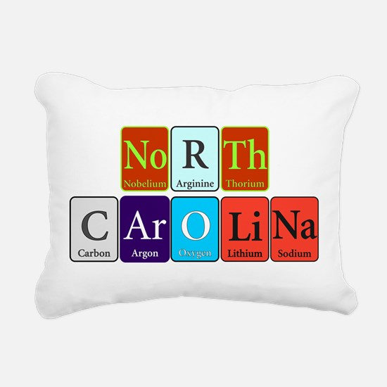 North Carolina Rectangular Canvas Pillow