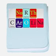 North Carolina baby blanket