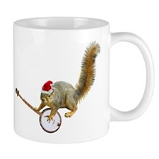Christmas Banjo Squirrel Mug