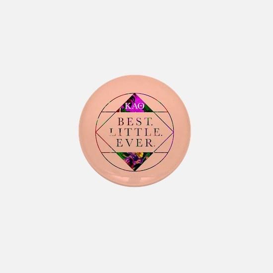 Kappa Alpha Theta Best Little Mini Button