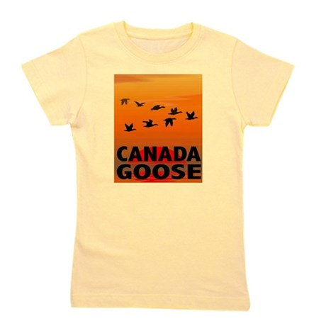 canada-geese-CROP-text.png Girl's Tee