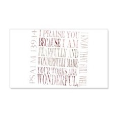 psalm 139 14 Wall Decal