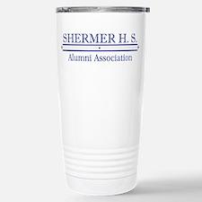 Shermer H. S. Alumni Assoc. Travel Mug