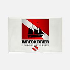 Wreck Diver (Ship) 2 Rectangle Magnet