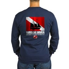 Wreck Diver (Ship) 2 Long Sleeve T-Shirt