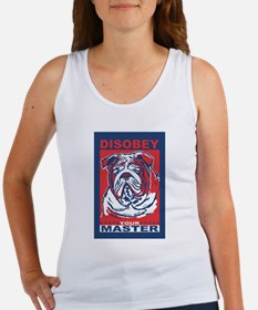 Disobey Your Master Tank Top