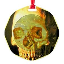 Skull - Death - Skeleton - Tech Ornament