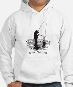 Personalized Gone Fishing Hoodie