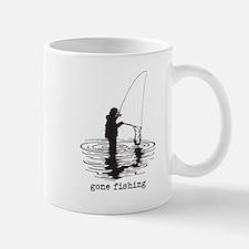 Personalized Gone Fishing Mug