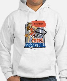 Personalized Girls Basketball Hoodie