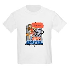 Personalized Girls Basketball T-Shirt