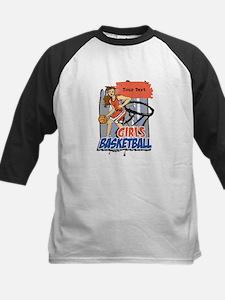 Personalized Girls Basketball Tee