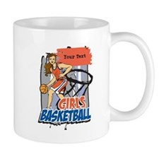 Personalized Girls Basketball Mug