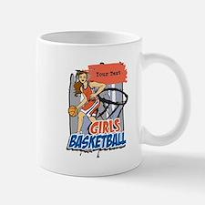 Personalized Girls Basketball Mug