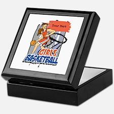 Personalized Girls Basketball Keepsake Box