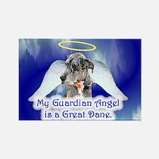 Great Dane (Blue Merle) Rectangle Magnet (100 pack