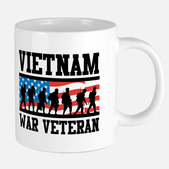 Vietnam War Veteran Mugs
