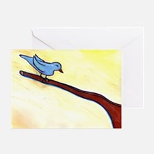 Blue Bird by Sabrina! Greeting Card