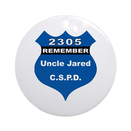 Remember Uncle Jared Ornament (Round)