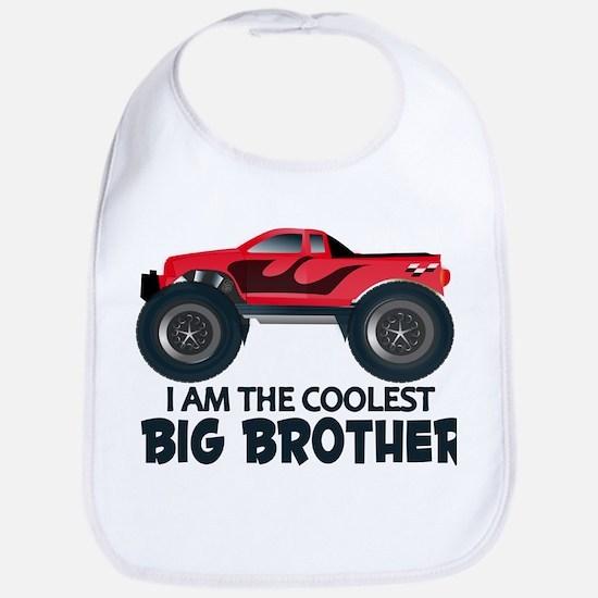 Coolest Big Brother - Truck Bib
