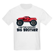 Coolest Big Brother - Truck T-Shirt