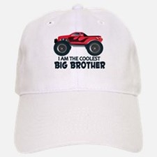 Coolest Big Brother - Truck Baseball Baseball Cap