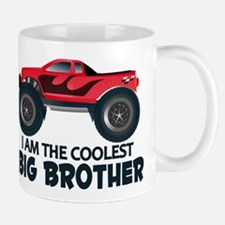 Coolest Big Brother - Truck Mug