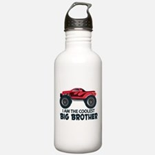 Coolest Big Brother - Truck Water Bottle