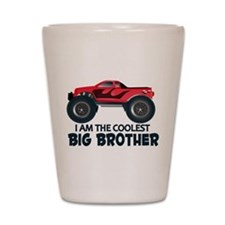 Coolest Big Brother - Truck Shot Glass