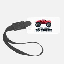 Coolest Big Brother - Truck Luggage Tag