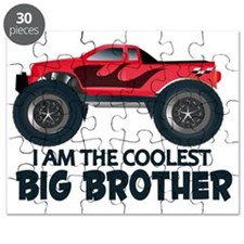 Coolest Big Brother - Truck Puzzle