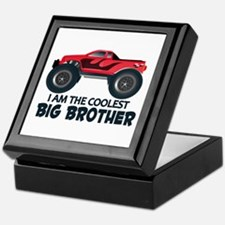 Coolest Big Brother - Truck Keepsake Box