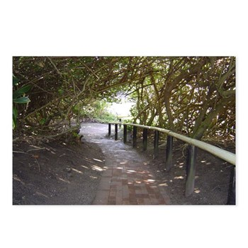 This covered path lead to a small bridge to reach the beach in Pennington South Africa. the bridge washed away shortly after my visit in 2005.
