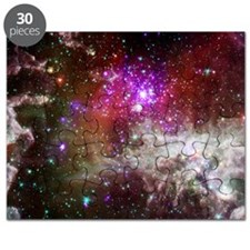 Space - Galaxy - Stars Puzzle