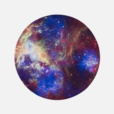"Space - Galaxy - Stars 3.5"" Button"