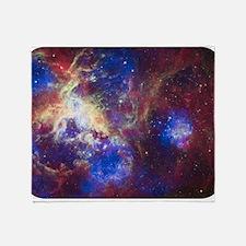Space - Galaxy - Stars Throw Blanket